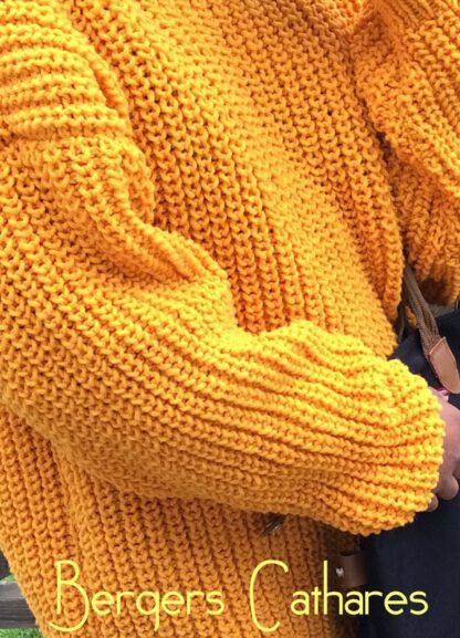 pull love laine de france