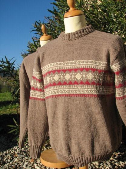 pull en laine de france