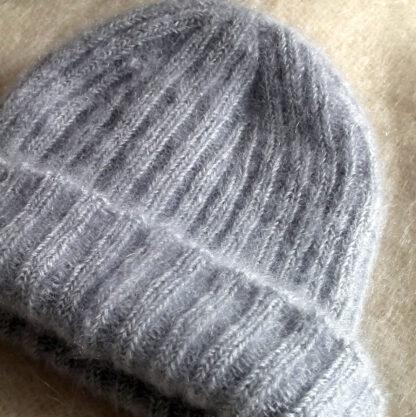 Bonnet mohair et soie