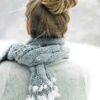 Fiche tricot écharpe et snood