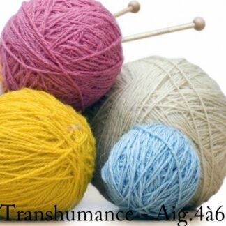 Fil à tricoter en pure laine de nos moutons transhumance