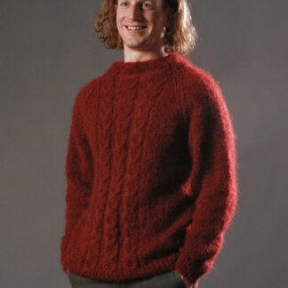 pull mohair pour homme