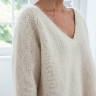Pulls cols V - kits à tricoter