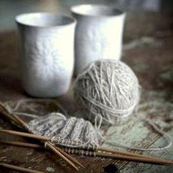 Kit à tricoter en mohair ou laine de France
