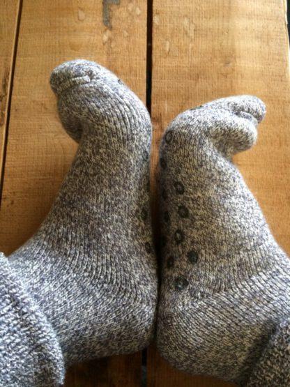 chaussons chaussettes anti dérapant