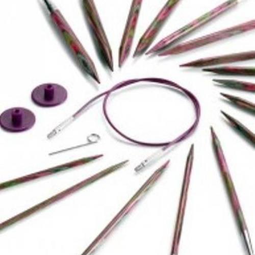 KnitPro Symfonie bois interchangeables circulaires aiguille conseils
