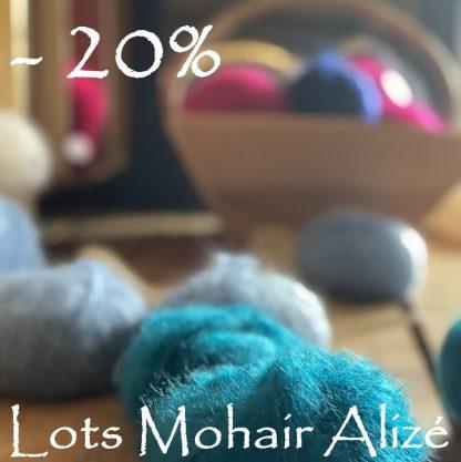 -20% mohair de France Alizé