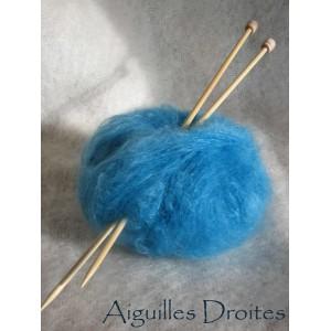 aiguilles à tricoter droites