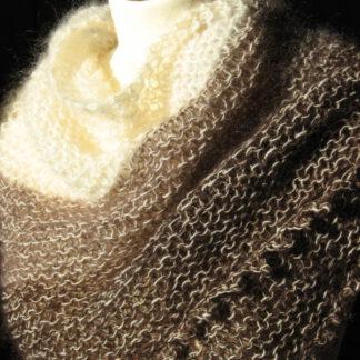 chale mohair et laine