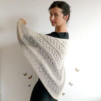Chale pure laine Hélène Magnusson