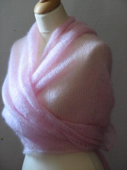 technique de tricot du chale