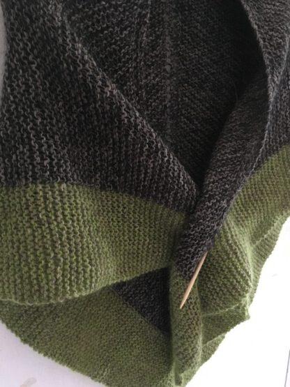 Chale Outlander tricoté à la main