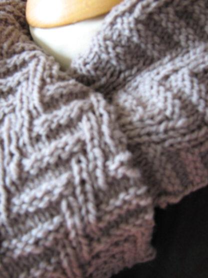 Echarpe en pure laine