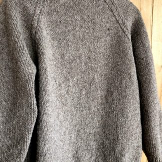 pull pure laine de france tricot main