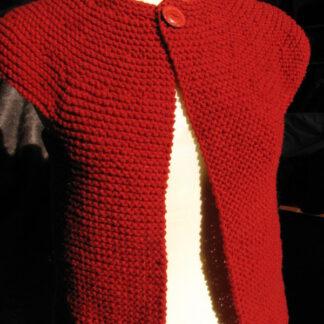 gilet sans manches en laine