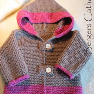 manteau laine bébé