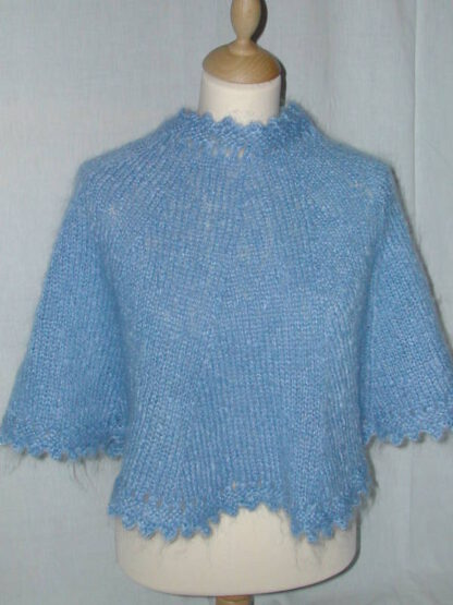 poncho mohair