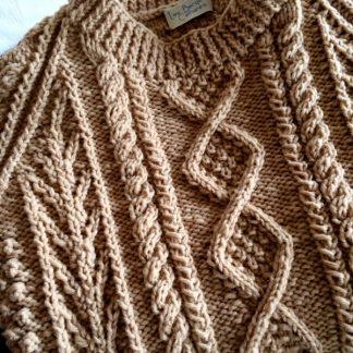 pull irlandais à tricoter