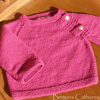 brassière laine naturelle bébé