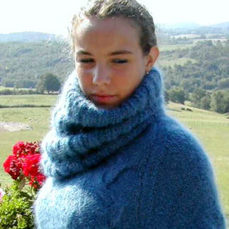 col snood mohair