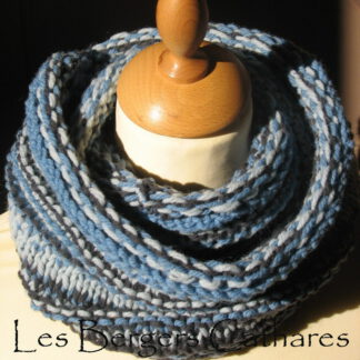 col snood pure laine