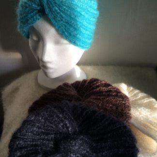 turban en mohair