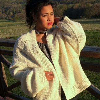 Veste pure laine de moutons