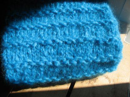 col snood tricoté