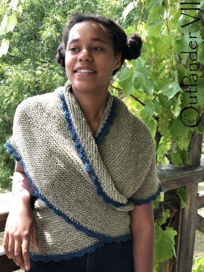 chale outlander pure laine de moutons