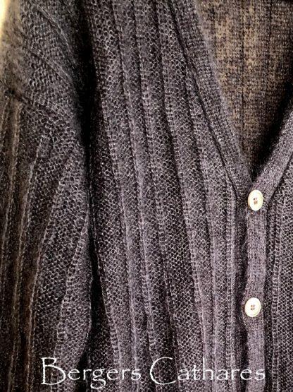 veste classique tricotée pour homme ou femme