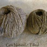 Gris-naturel/Tilleul