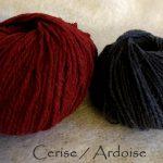 Cerise/Ardoise
