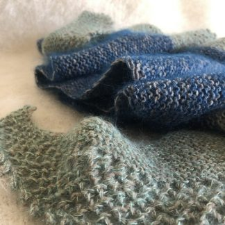 chale biquette chic naturel et Français à tricoter