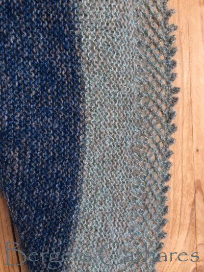 chale tricoté main en France