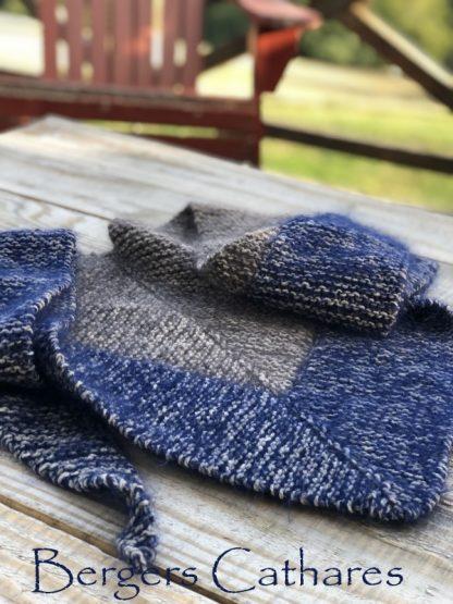 tricoter le chale outlander de claire
